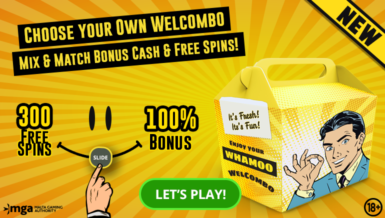 The Welcombo Welcome Offer at Whamoo Casino