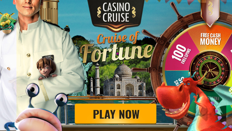 Daily Freespins and Cash Bonuses in Casino Cruise's Cruise of Fortune Wheel