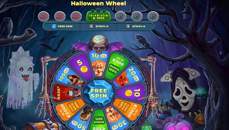 Wazamba Casino Celebrates Halloween with New Wheel of Fortune