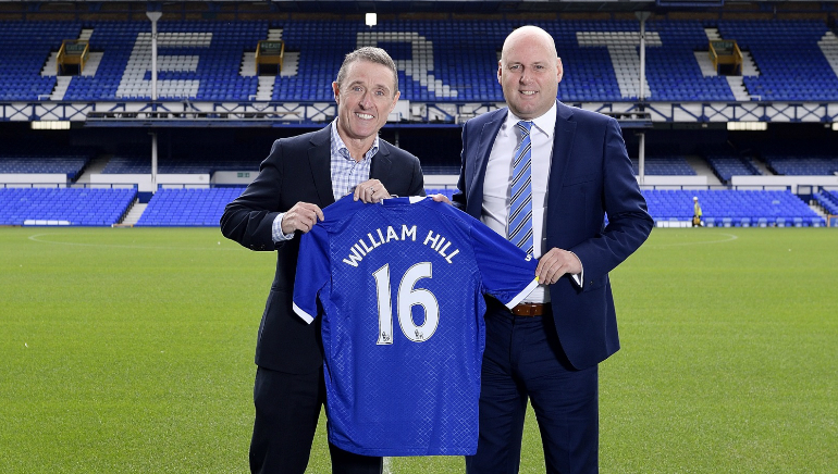 William Hill Becomes Everton's Official European Betting Partner