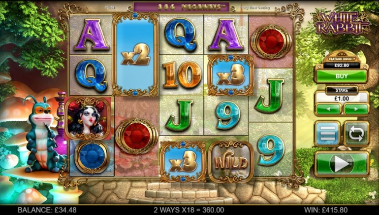 Take a Trip Down the Rabbit Hole with New White Rabbit Slot by BTG