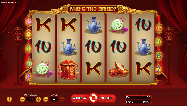 NetEnt Heads East For The New Who's The Bride? Slot Game