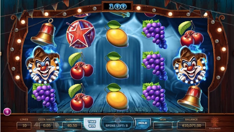 New Yggdrasil Slot: Wicked Circus