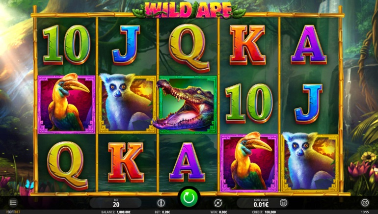 Wild Ape Slot Swings in at iSoftBet Casinos