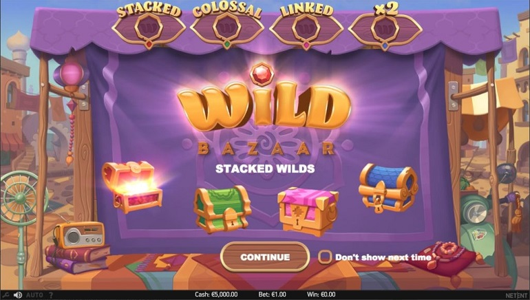 Shop for Riches With NetEnt's New Wild Bazaar Slot