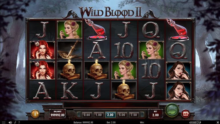 Play'n GO Releases Wild Blood 2 Slot