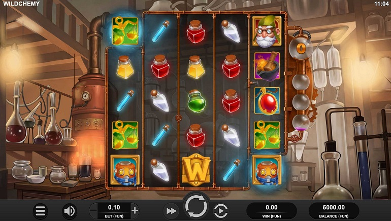 Relax Gaming Mixes Up A Winning Blend With Their New Wildchemy Slot