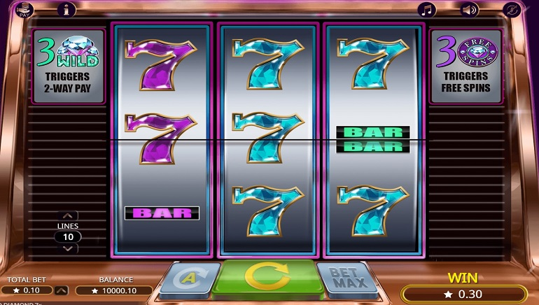 Booming Games Releases Classic Slots Gem in Wild Diamond 7x