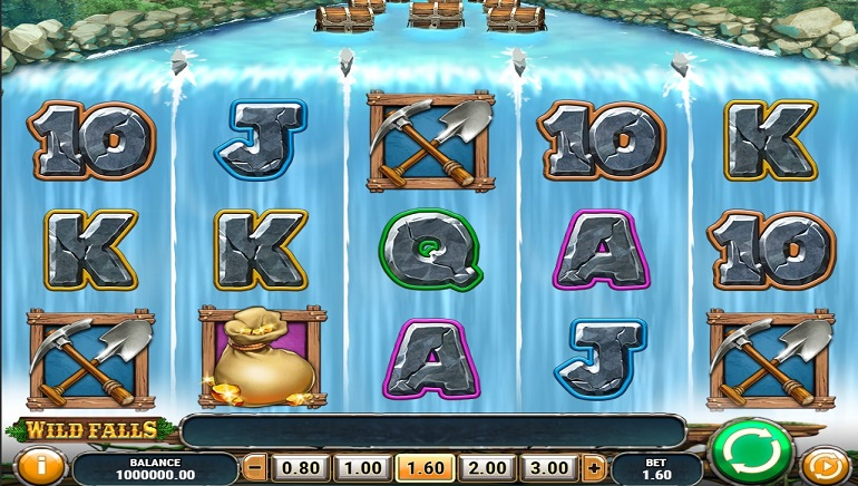 Preview: Wild Falls Slot from Play'n GO To Make a Splash!