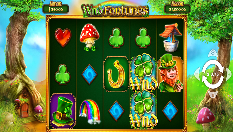 Visit The Emerald Isle With New Wild Fortunes Slot From Pariplay
