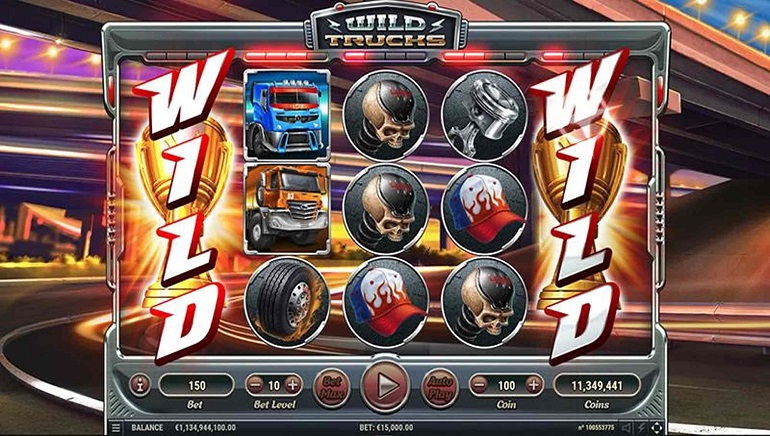 Wild Trucks Slot Rolls into Town from Habanero Systems