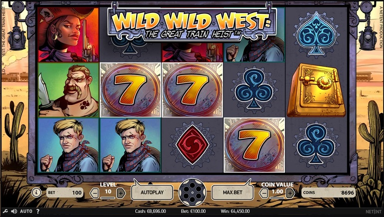 Slot Spotlight: Wild Wild West – The Great Train Heist