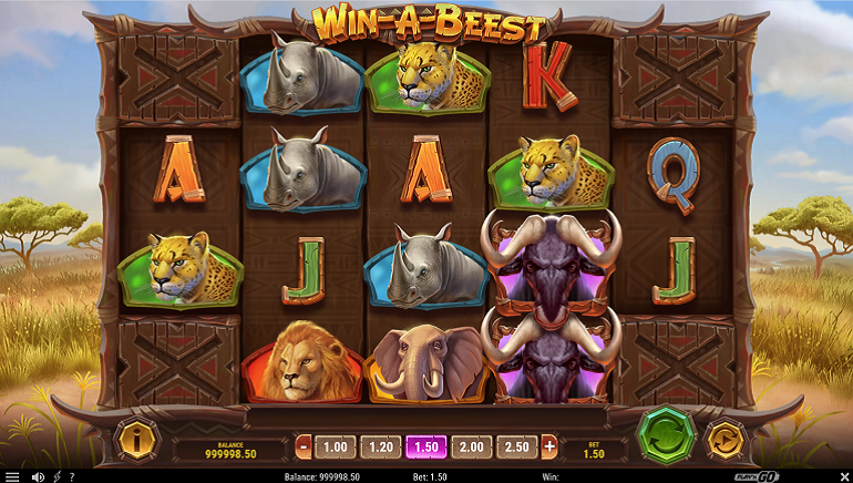 Slot Review: Win-A-Beest from Play'n GO