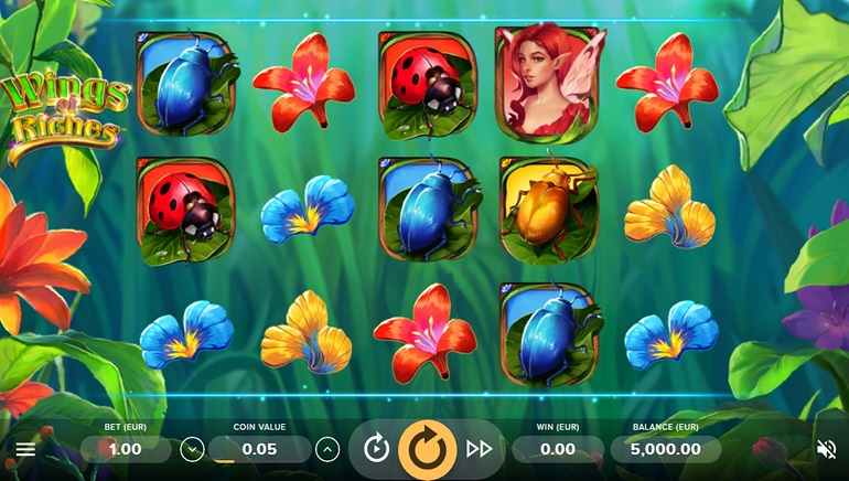 Slot Review: Wings of Riches by NetEnt