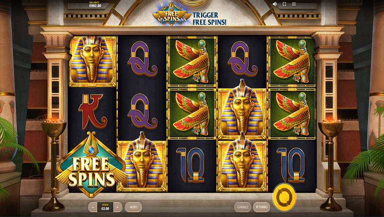 Red Tiger Gaming Unveils the Golden 'Wings of Ra' Slot Game