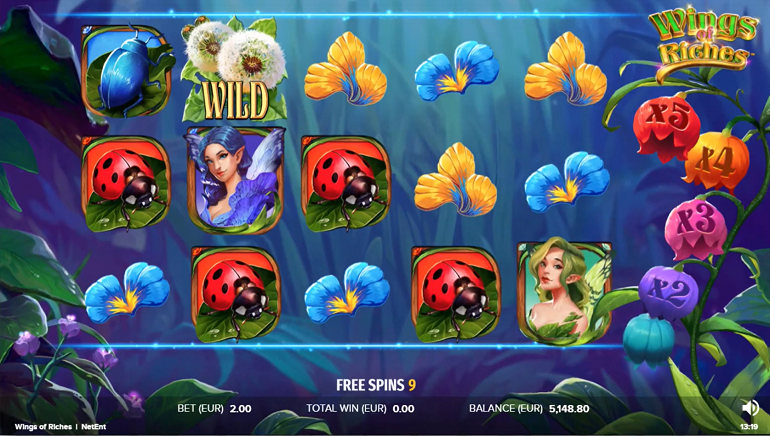 NetEnt Invites Players To An Enchanting Realm With The Wings Of Riches Slot
