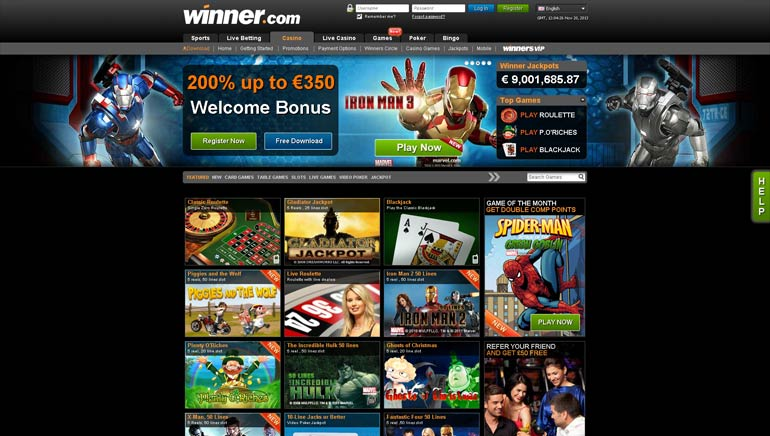 Winner Casino Delivers Huge Slots Jackpot