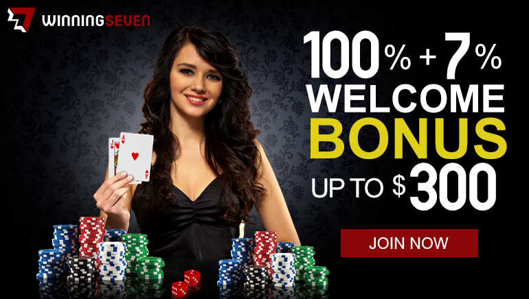 Winning Seven Casino Welcomes Players with A Juicy Bonus