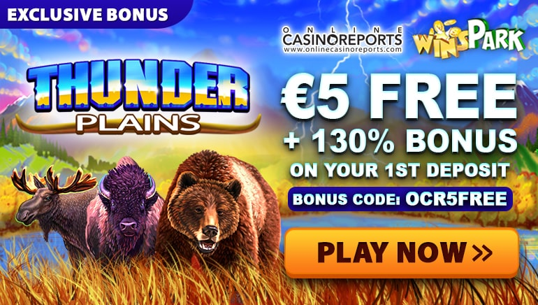 WinSpark Ignites a Firestorm of Activity with Thunder Plains Promo