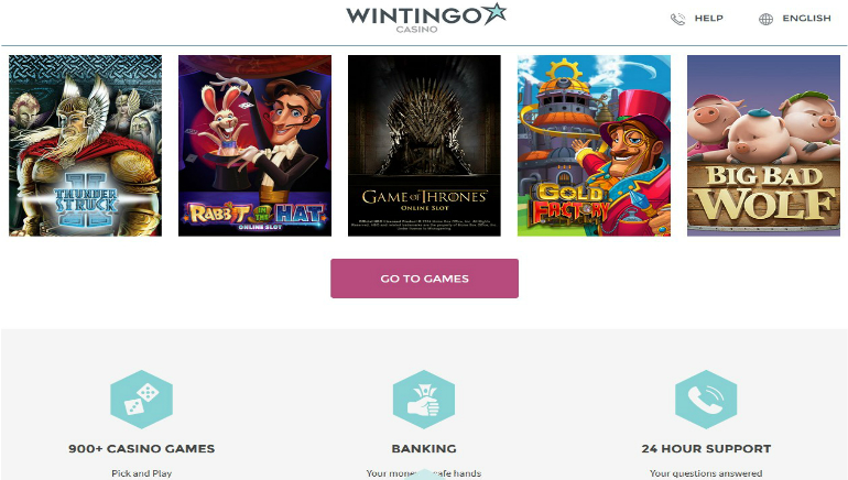 Wintingo Casino Shows Off New Design