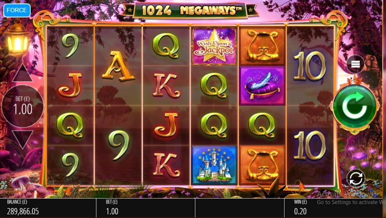 Wish Upon a Jackpot Megaways by Blueprint Gaming