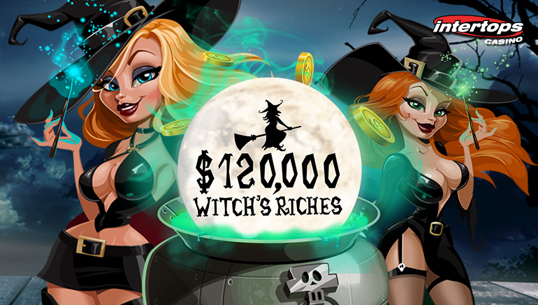 Witch's Riches Contest Fills the Magic Cauldron with $120,000 in Bonuses