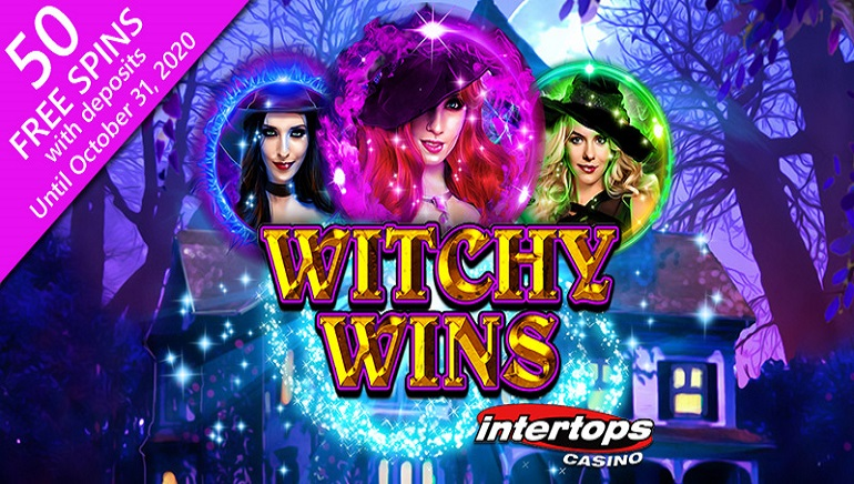 Intertops Casino Celebrating Halloween With Witchy Wins Slot Promotion