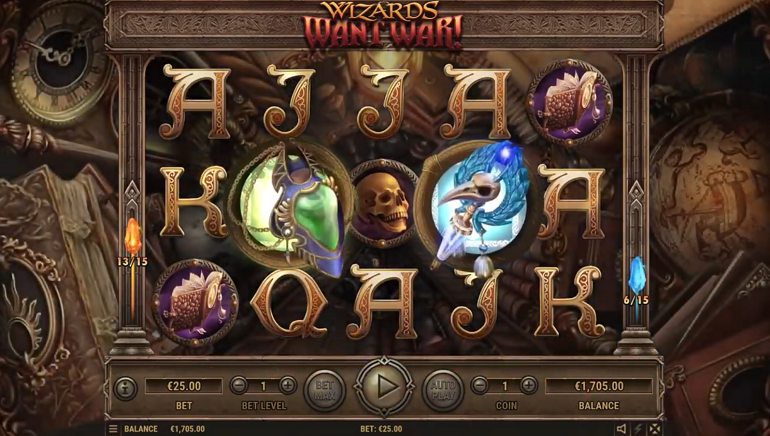 Habanero Releases the Spellbinding Wizards Want War Slot