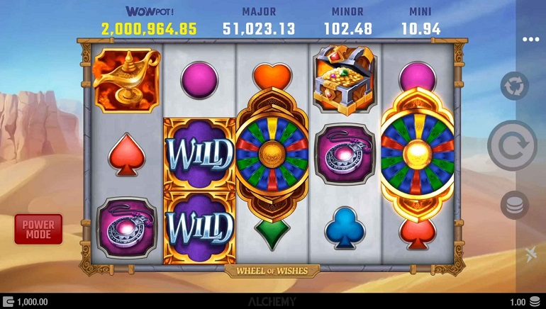 Slot Review: Wheel of Wishes by Microgaming and Alchemy Gaming