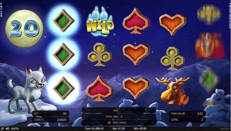 NetEnt's New Wolf Cub Slot Hits Online Casinos