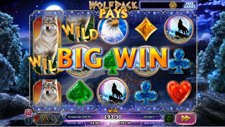 Playing NextGen Gaming's New Slot: Wolfpack Pays
