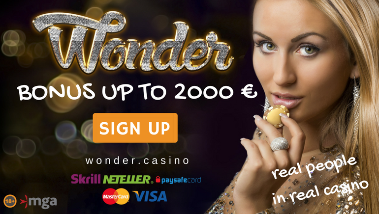 Join The Live Games Paradise at Wonder Casino