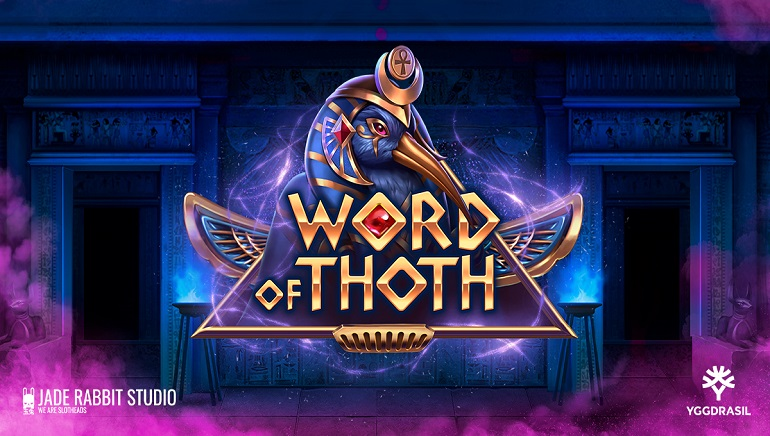 Yggdrasil & Jade Rabbit Studio Explore Ancient Egypt In New Word Of Thoth Slot