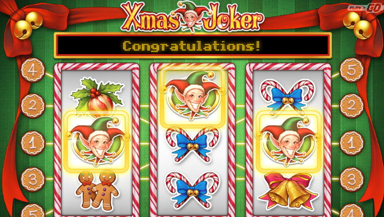 Play'N Go Releases New Holiday-Themed Slot, Xmas Joker