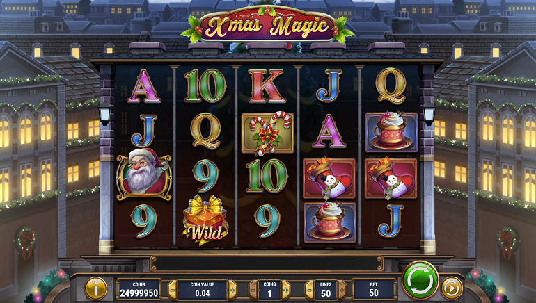 Play'n GO Delivers Xmas Magic Slot Just in Time for the Holidays
