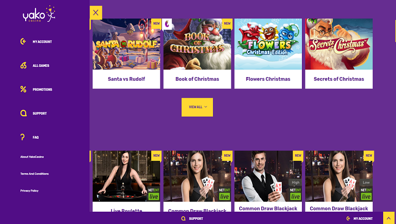 Yako Casino Is Back With A New Look And New Offers