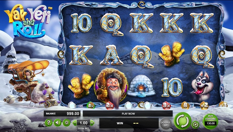 Slot Review: Yak, Yeti and Roll From Betsoft