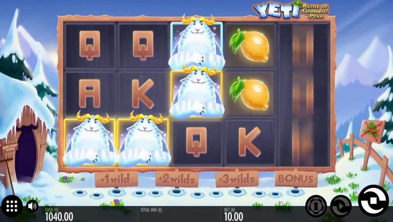 Thunderkick Casinos Get a Yeti Slot