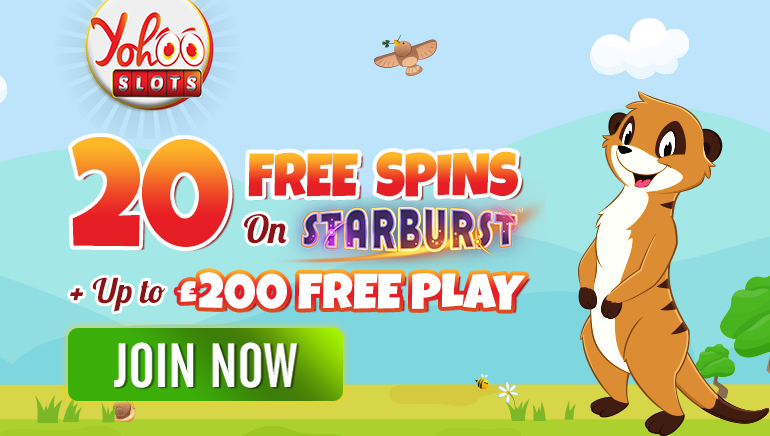 Embark on Yohoo Slots Adventure with 20 Starburst Free Spins