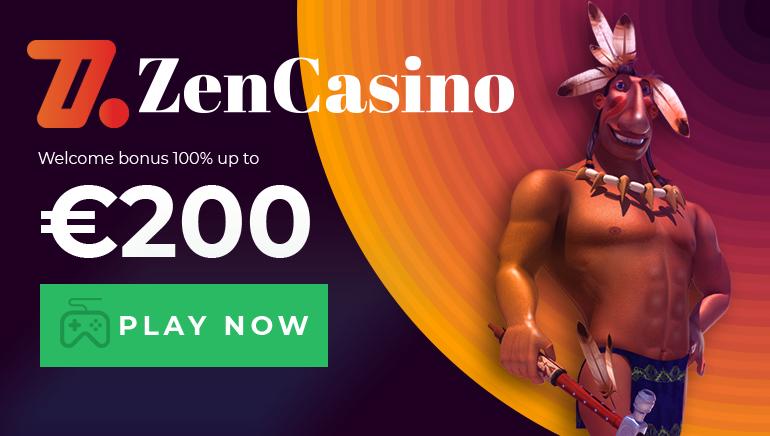 Start Your Zen Casino Adventure With 100% up to €200 Welcome Bonus