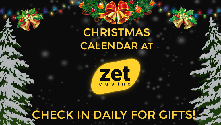 Christmas Road Calendar Gifts at Zet Casino